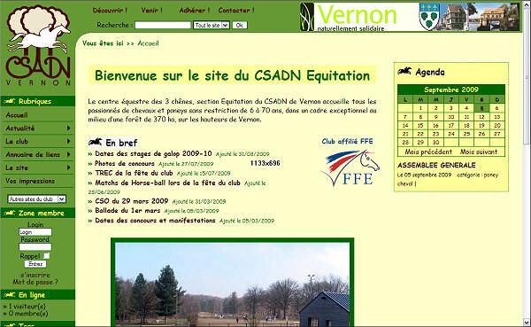 CSADN Equitation