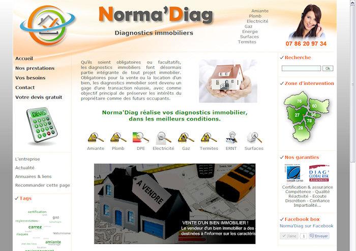 Norma'Diag, diagnostics immobiliers à Vernon