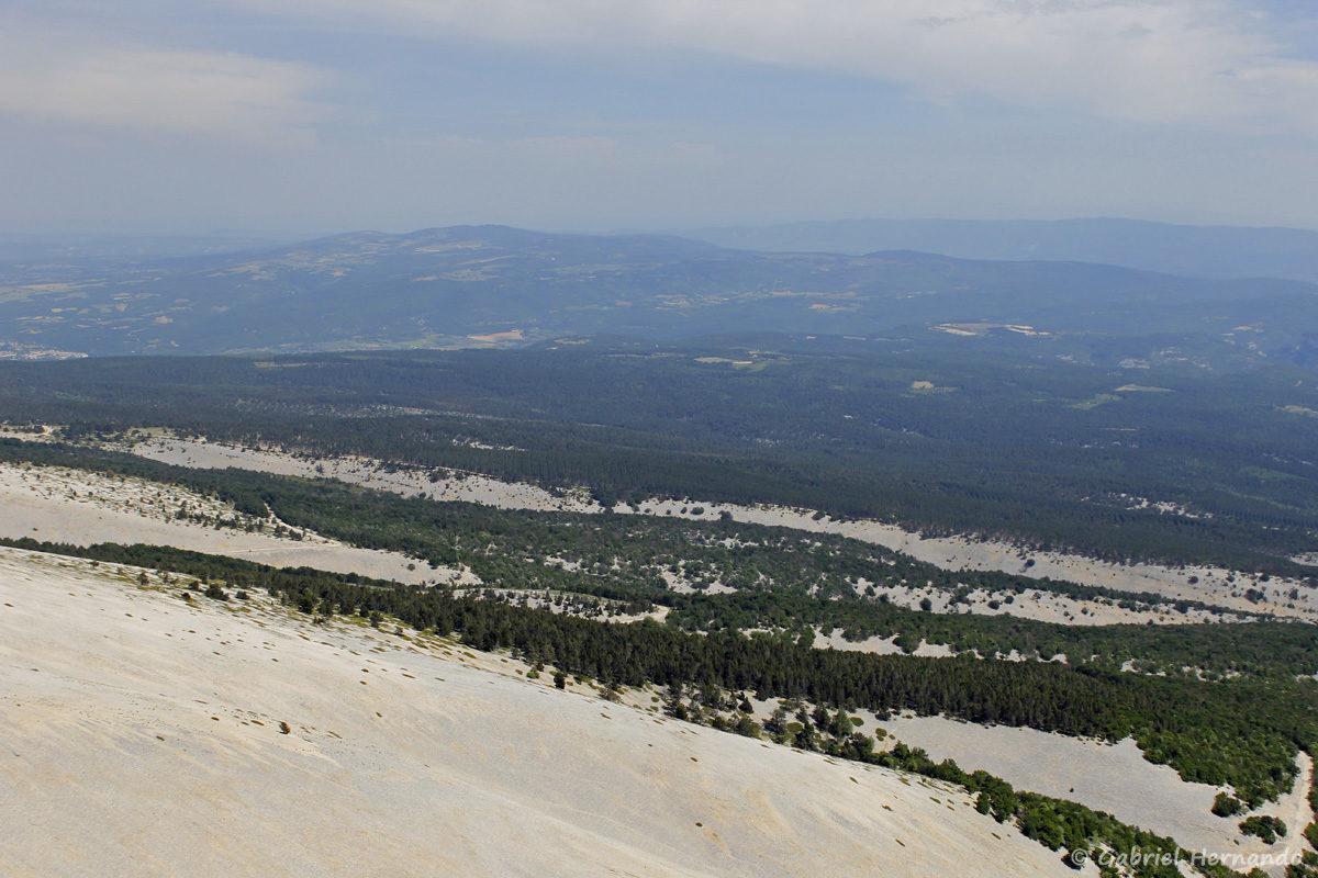 Pentes du Mont Ventoux et panorama