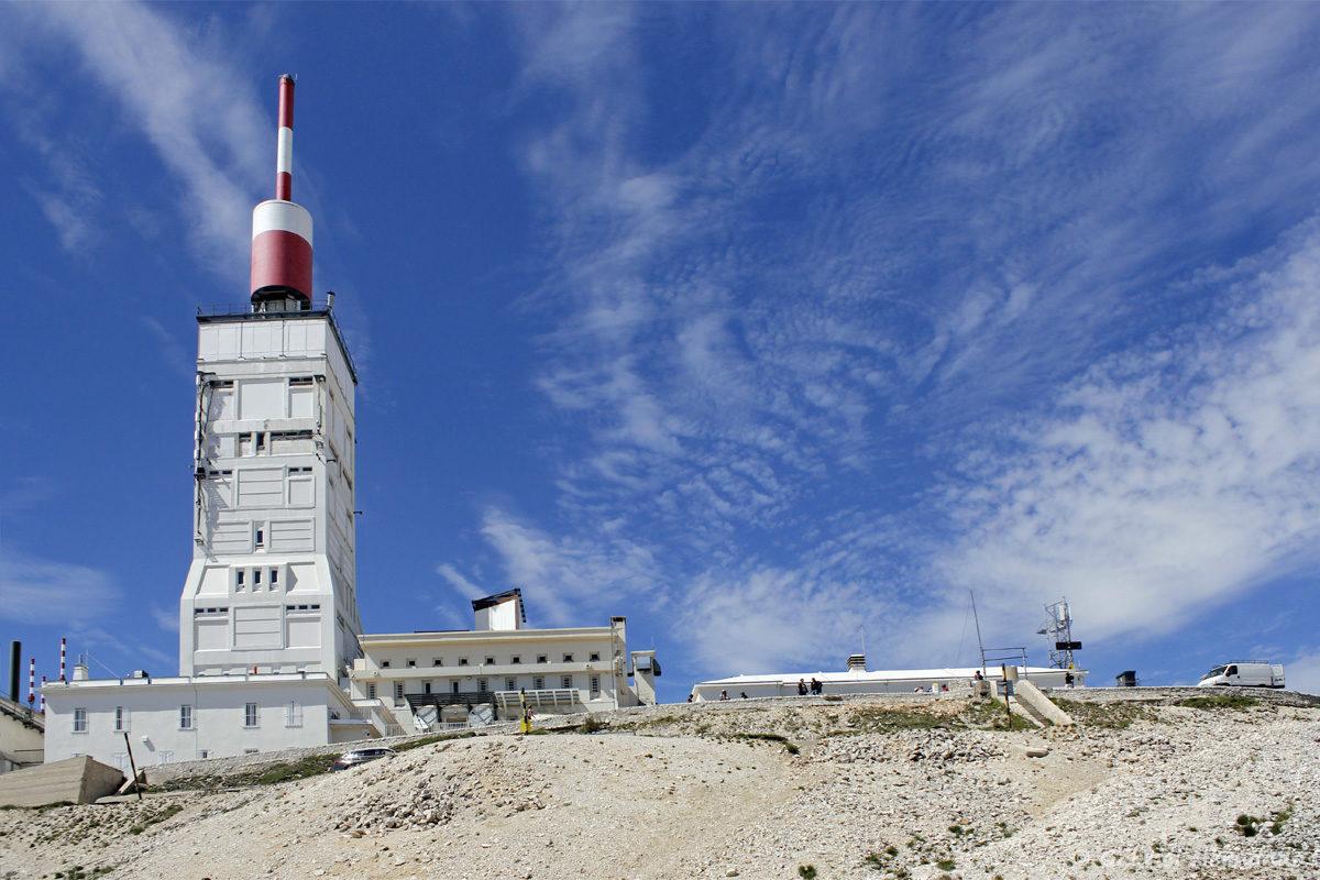 Observatoire météorologique situé au sommet du Mont Ventoux