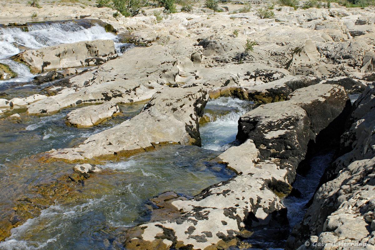 Chutes d'eau des cascades du Sautadet