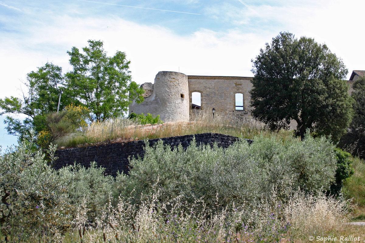 Le château dit des Templiers, à Gréoux Les Bains