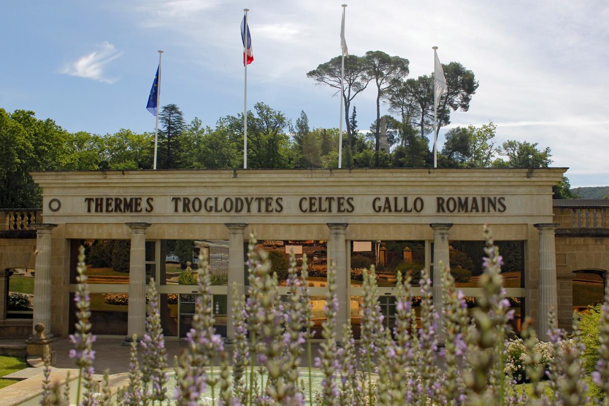 Thermes troglodytes de Gréoux Les Bains