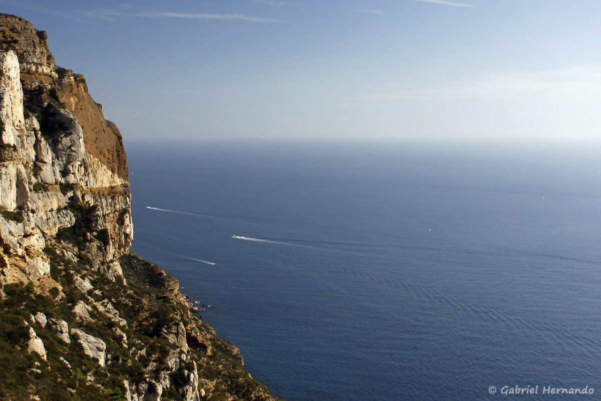 Panorama sur la Méditerranée