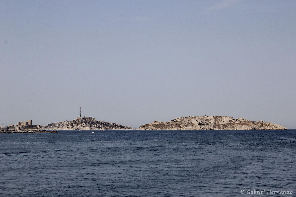 L'archipel du Frioul, à Marseille