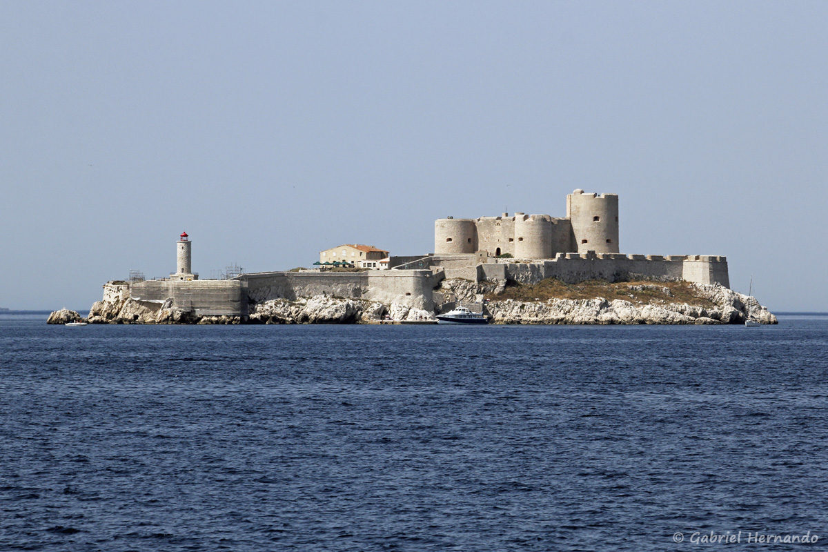 l'île d'If et son célèbre château
