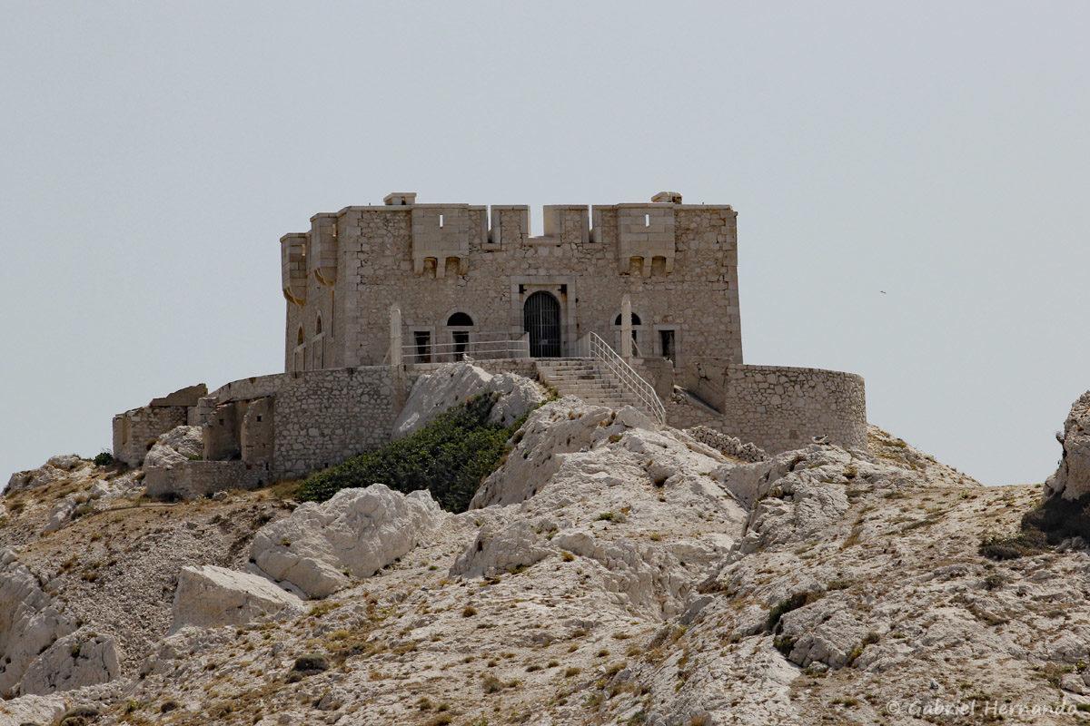 Tour de Pomeguet, construit au 19ème siècle, sur le même emplacement qu'un forti