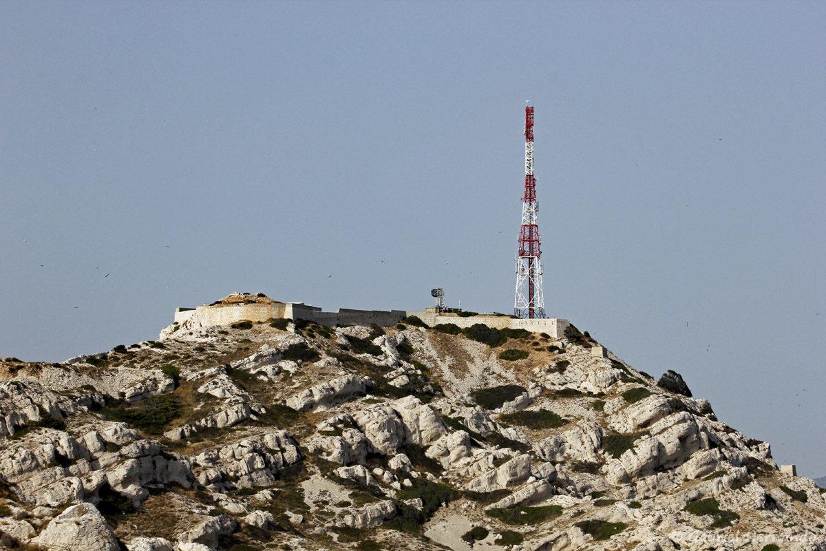 Fort de Pomègues et son antenne