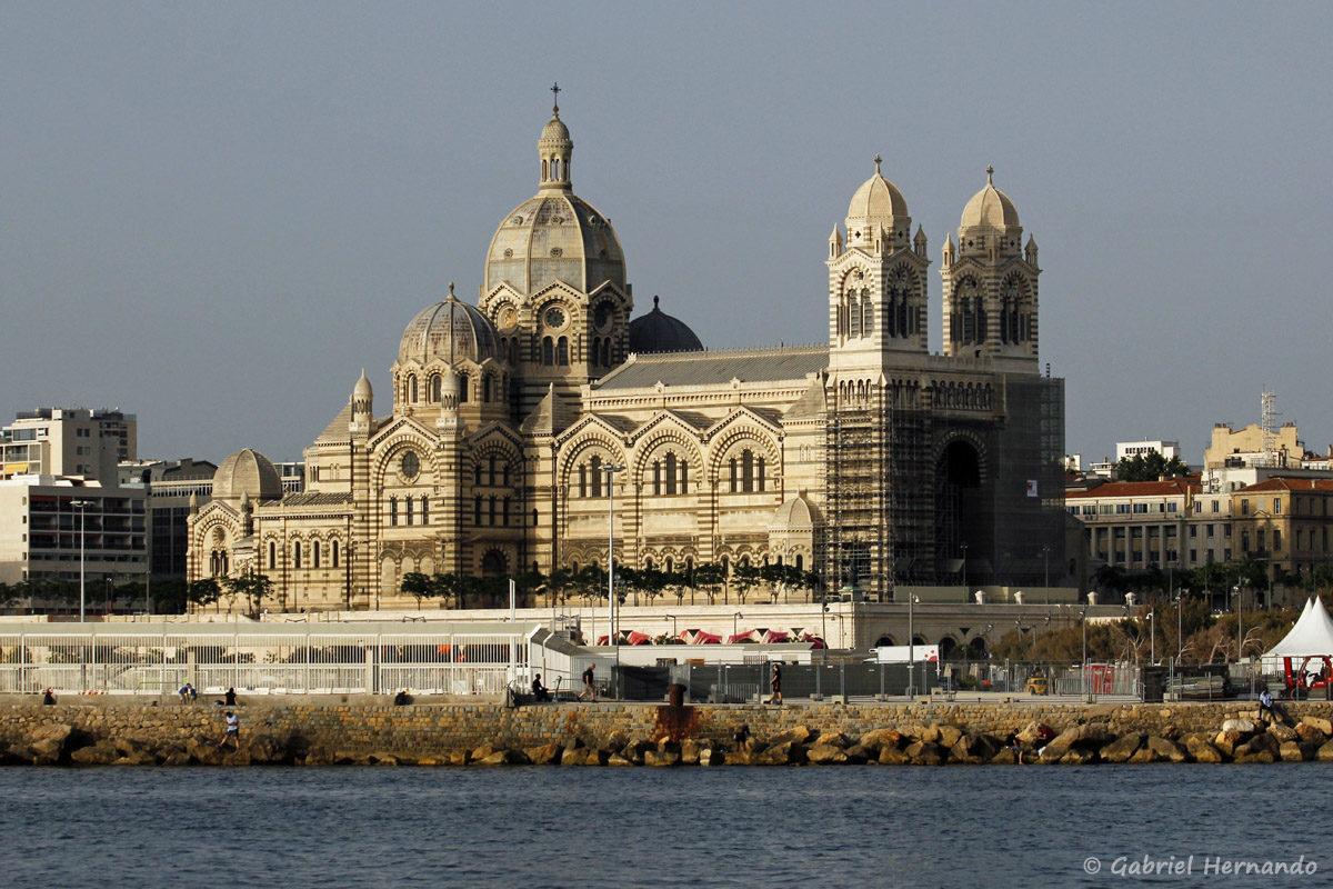 La cathédrale de la Major ou cathédrale Sainte-Marie-Majeure (1852 / 1893)