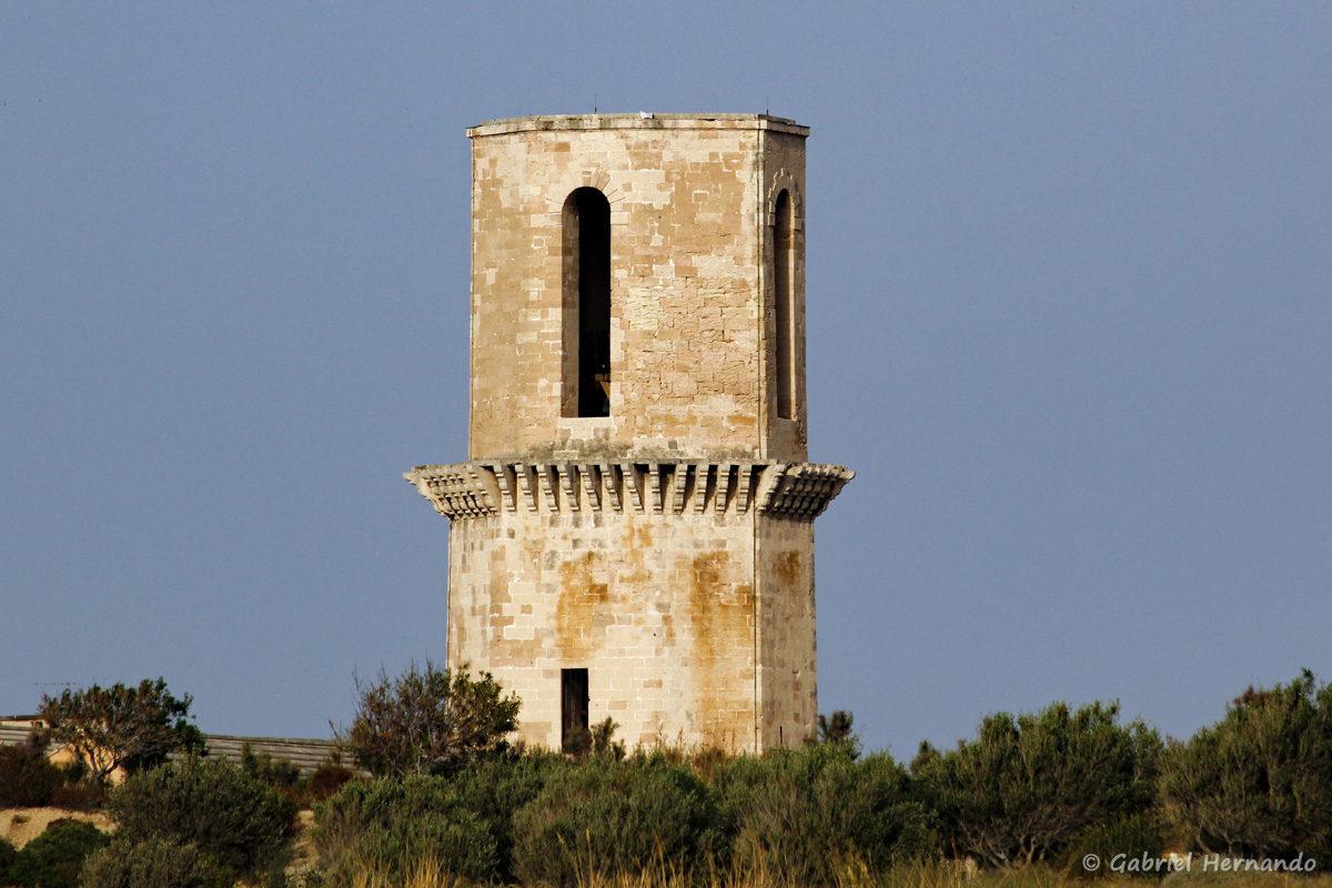 Clocher de l'Eglise Saint Laurent (XII/XIII ème siècle), située derrière le fort Saint-Jean, à Marseille