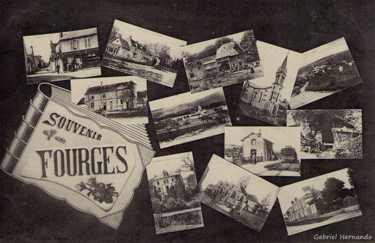 Fourges, 1915 - Souvenir
