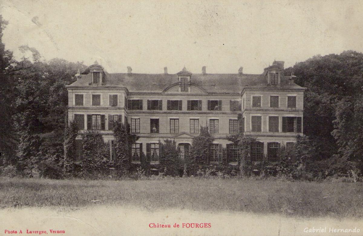 Fourges, 1915 - Château de Fourges