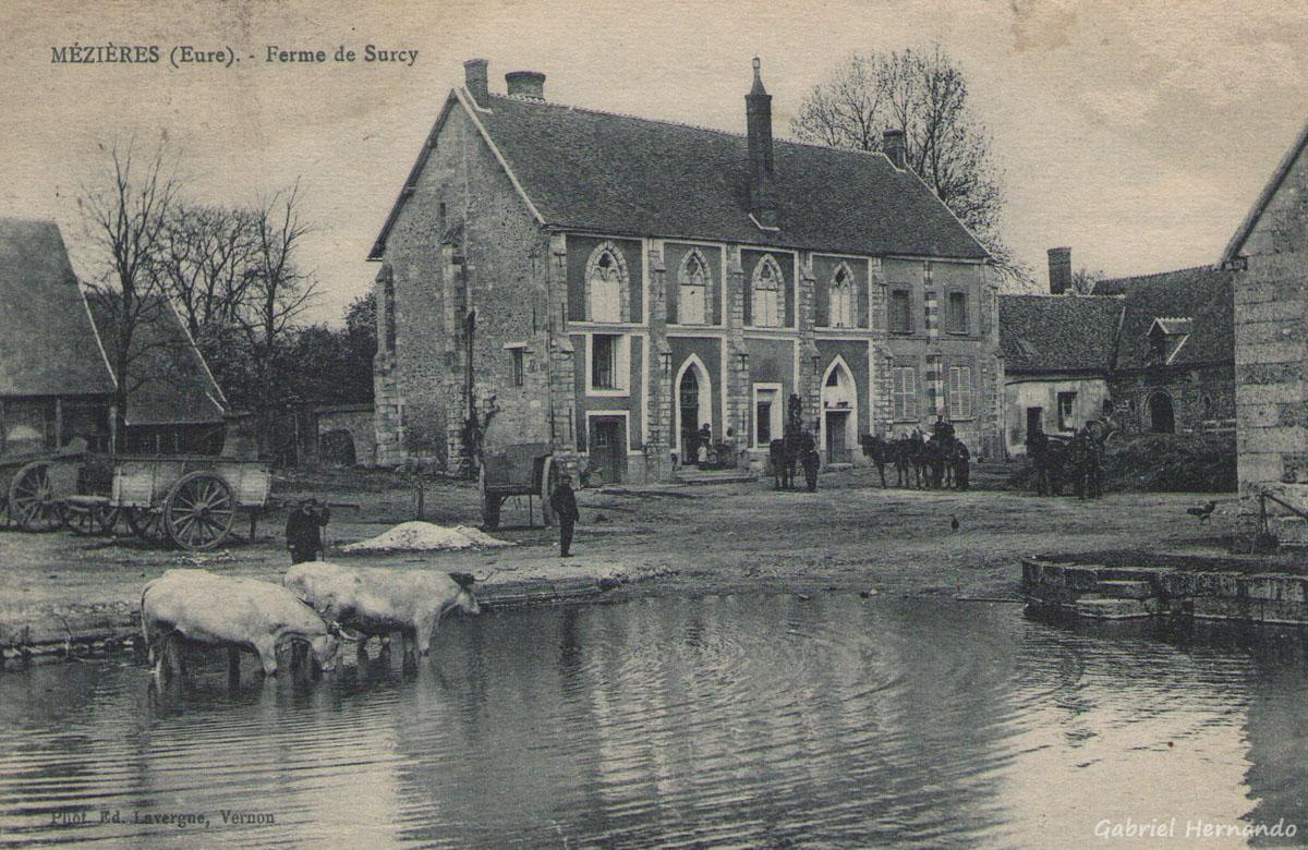 Mézière, 1922 - Ferme de Surcy