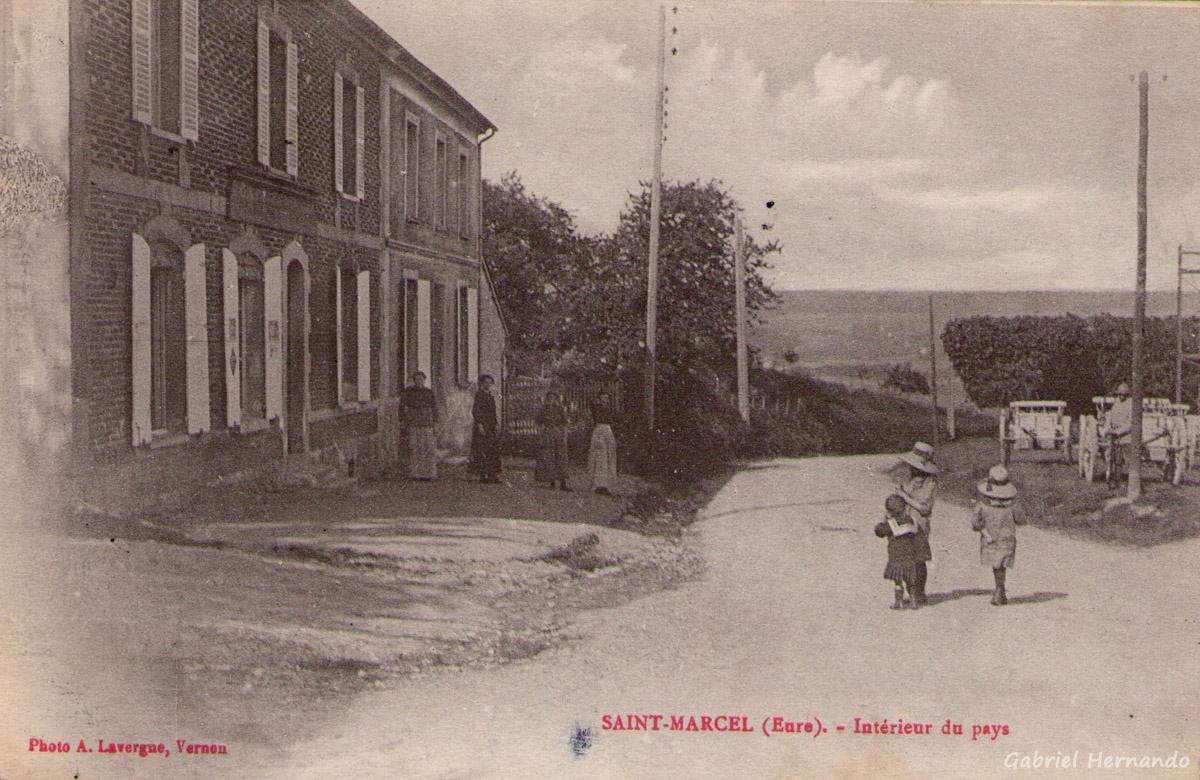 Saint-Marcel, 1917 - Intérieur du Pays (Rue Georges Hermand)