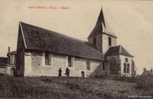Saint-Marcel, date inconnue - L'église