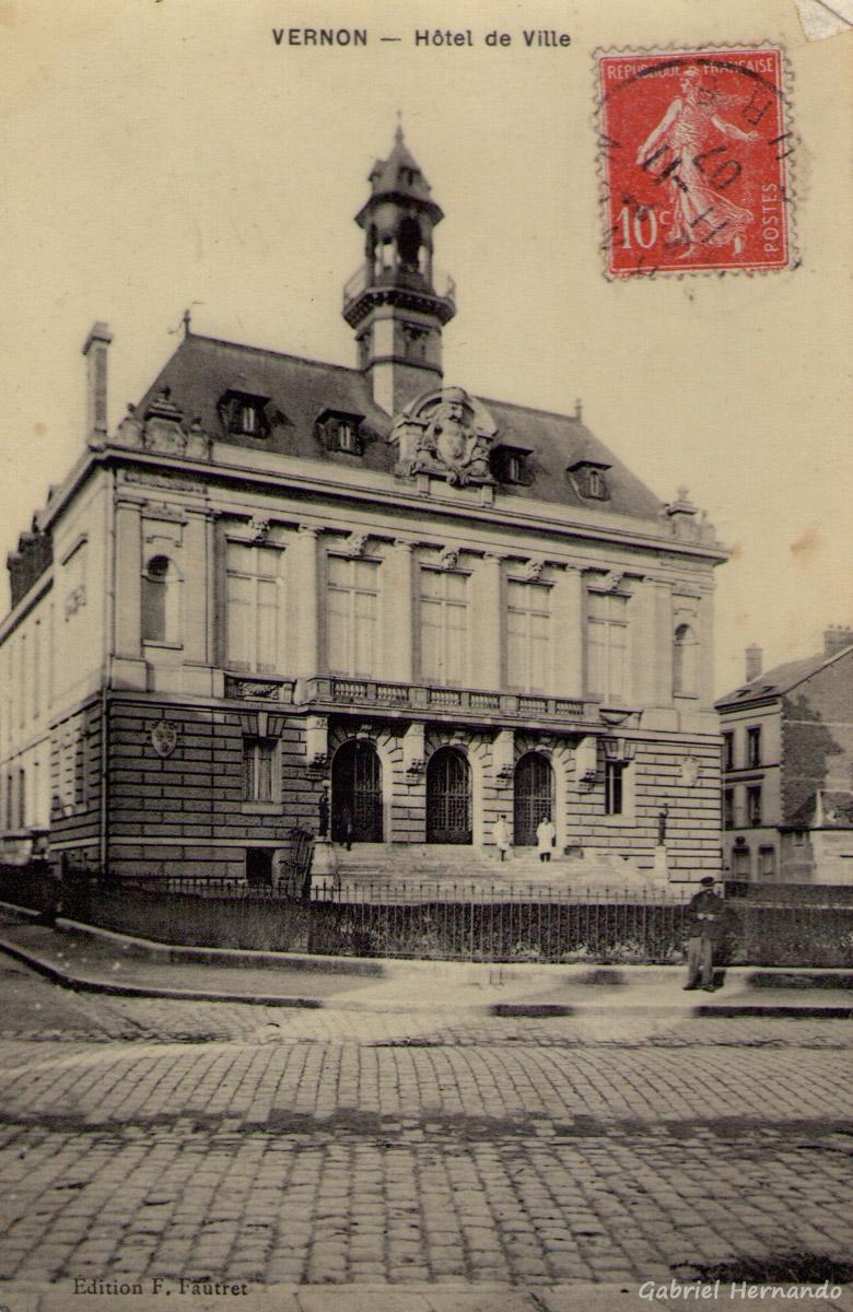 Vernon, 1907 - Hôtel de Ville