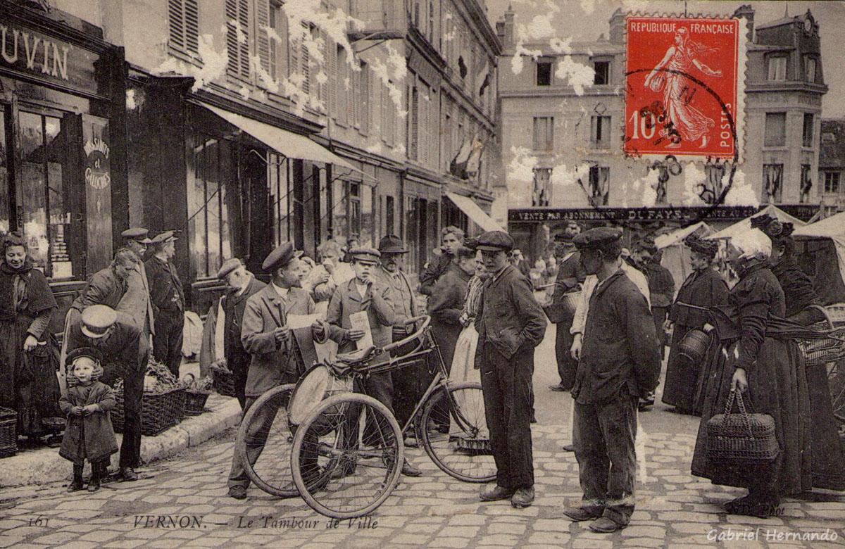 Vernon, 1908 - Le Tambour de Ville