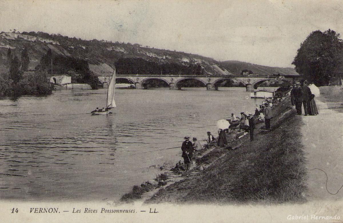 Vernon, 1917 - Les rives poissonneuses