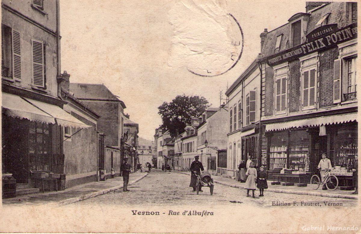 Vernon, date inconnue, - Rue d'Albuféra
