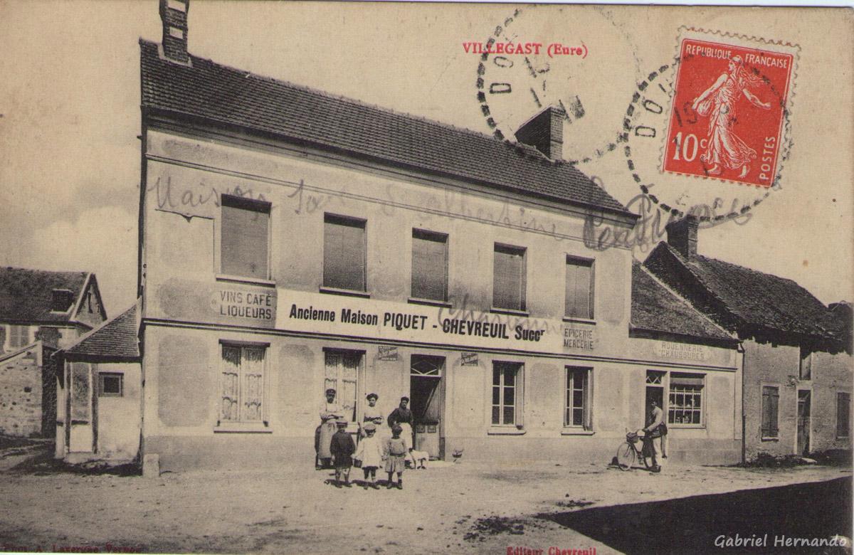 Villégat, 1919 - Villégast