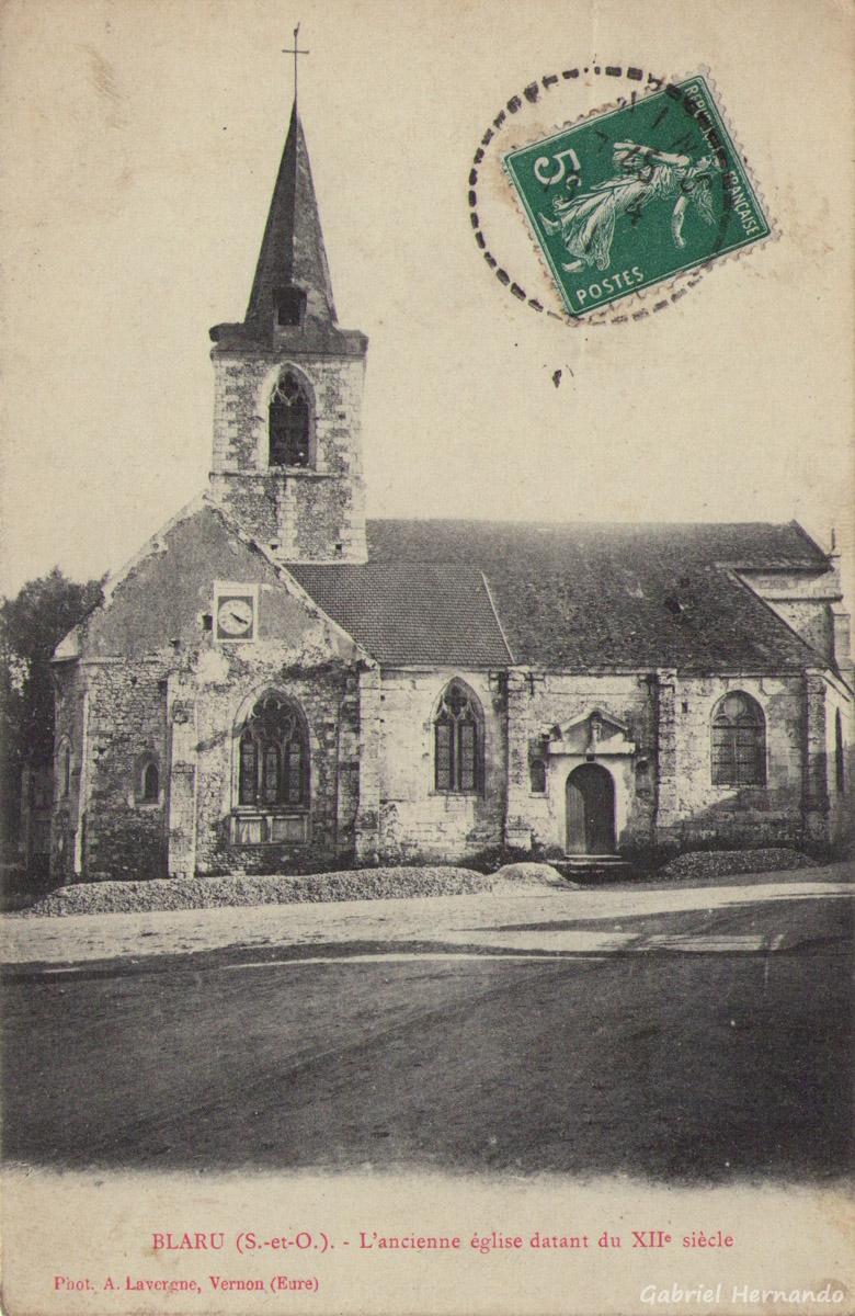 Blaru, date inconnue - L'ancienne église datant du XIIe siècle