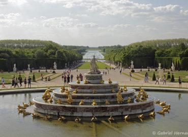Le bassin de Latone, parc du château de Versailles