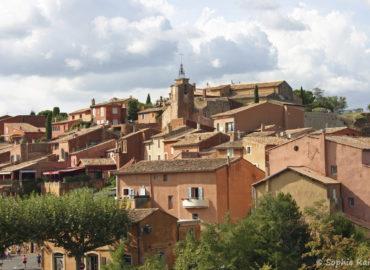 Le village de Roussillon en Provence