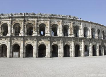 Les Arènes de Nîmes (septembre 2017)