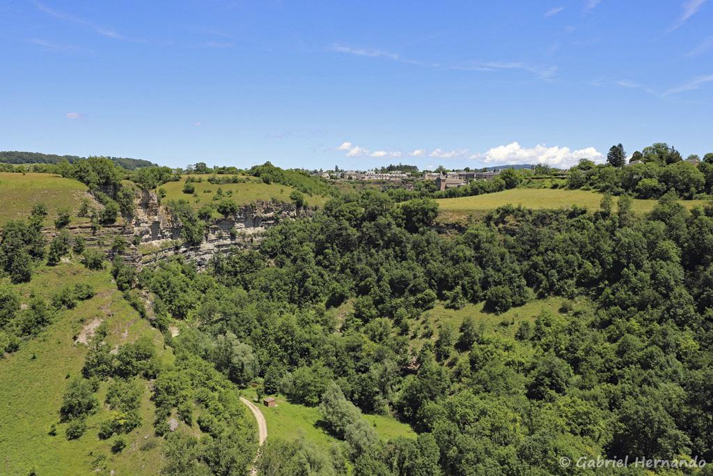 Gorges du Dourdou (Trou de Bozouls, Aveyron, juillet 2021)