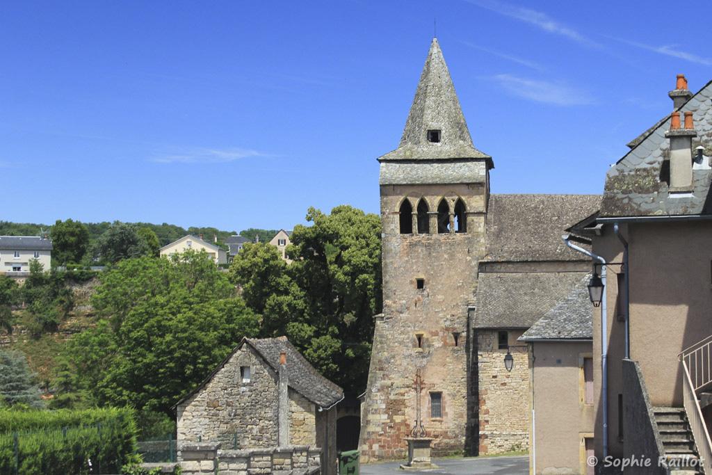 Eglise romane Sainte-Fauste de Bozouls (Aveyron, juillet 2021)
