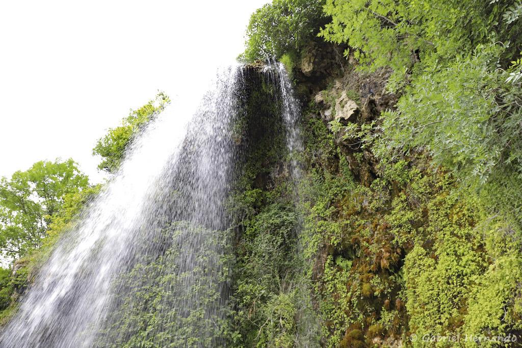 Cascade de Salles-La-Source (juillet 2021)